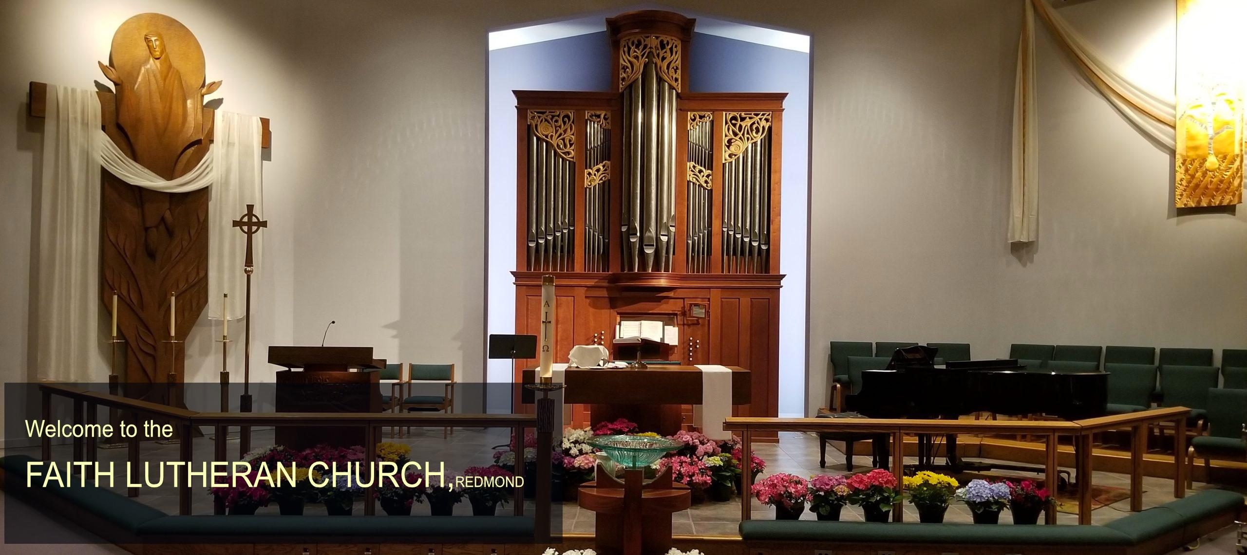 Welcome to the faith lutheran church redmond